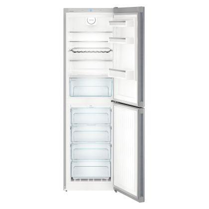 Combina frigorifica Liebherr CNel 4713, No Frost, DuoCooling, 328 L, clasa A++, Silver