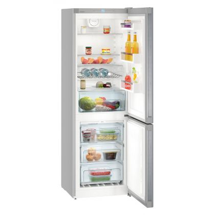 Combina frigorifica Liebherr CNel 4313, No Frost, DuoCooling, 304 L, clasa A++, Silver