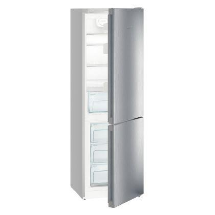 Combina frigorifica Liebherr CPel 4313, SmartFrost, DuoCooling, 308 L, clasa D, Silver