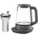 Fierbator de apa Electrolux E7GK1-8BP negru, 1700 ml, cos de infuzare ceai