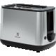 Prajitor de paine Electrolux E3T1-3ST inox, 7 trepte rumenire, 800 W, functie dezghetare