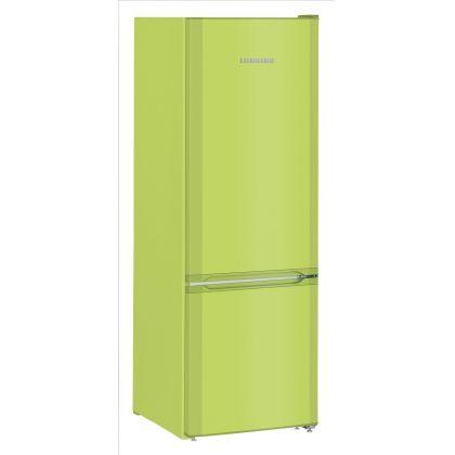 Combina frigorifica Liebherr CUkw 2831, SmartFrost, 265 L, clasa F, KiwiGreen