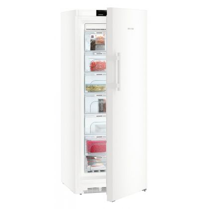 Congelator Liebherr GN 4635, NoFrost, BluPerformance, 312 L, clasa D, Alb