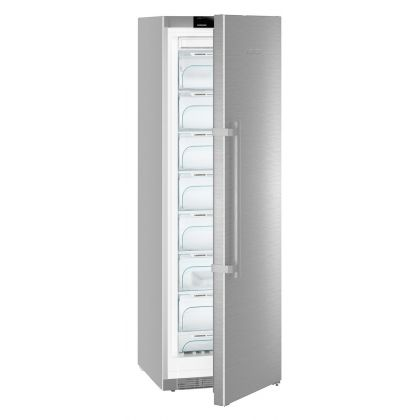 Congelator Liebherr GNef 4335, NoFrost, BluPerformance, 268 L, clasa A+++, Silver