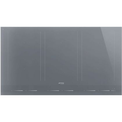 Plita incorporabila cu inductie Smeg Linea SIM1963DS, 90 cm, silver
