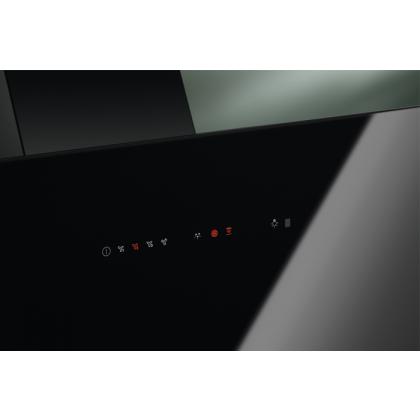Hota de perete Electrolux LFV416K, 60 cm, neagra, 600 mc/h, Hob2Hood