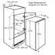 Frigider incorporabil Electrolux LRB3AF12S, 207 l, static