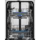 Masina de spalat vase partial incorporabila Electrolux EES42210IX, A++, SatelliteClean, 9 seturi, inverter, AirDry, 45 cm