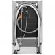 Masina de spalat vase partial incorporabila AEG FEE73517PM 45 cm, A+++, MaxiFlex, AirDry, inverter