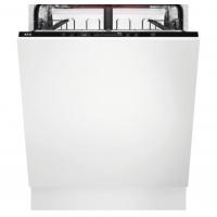 Masina de spalat vase incorporabila AEG FSB53637P GlassCare, 13 seturi, inverter, A+++, AirDry, 60 cm, Beam on floor