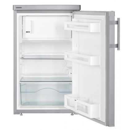 Minibar Liebherr Tsl 1414, inox, 122 l, clasa F, 50 cm latime, compartiment congelator