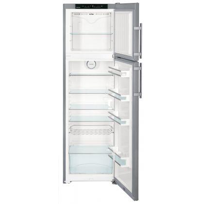 Frigider cu 2 usi Liebherr Premium CTNesf 3663, 60 cm, inox, F, No Frost pe congelator