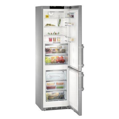 "Combina frigorifica Liebherr Premium BioFresh NoFrost CBNies 4878, 60 cm latime, Display tactil 7"""