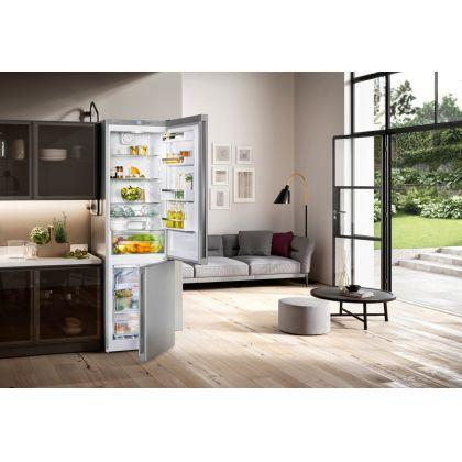 Combina frigorifica Liebherr No Frost CNPel 4813, 60 cm latime, inox