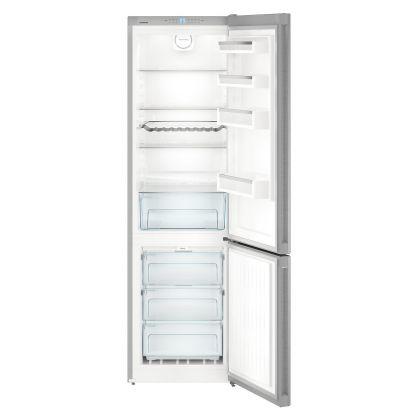 Combina frigorifica Liebherr No Frost CNef 4813, 60 cm latime, inox