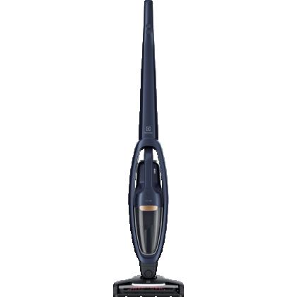 Aspirator vertical 2 in 1 cu acumulatori Electrolux WELL Q7 WQ71-50IB, 50 min autonomie, 21.6 V, albastru inchis