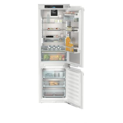 Combina frigorifica incorporabila Liebherr Peak No Frost ICNdi 5173, display-ului Touch & Swipe, IceMaker, BottleTimer