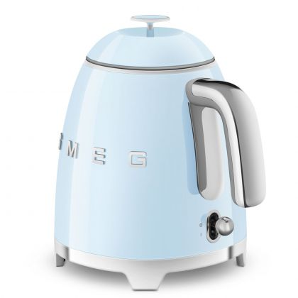 Mini fierbator de apa retro Smeg KLF05PBEU, albastru
