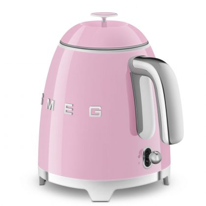Mini fierbator de apa retro Smeg KLF05PKEU, roz