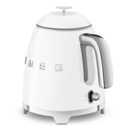 Mini fierbator de apa retro Smeg KLF05WHEU, alb