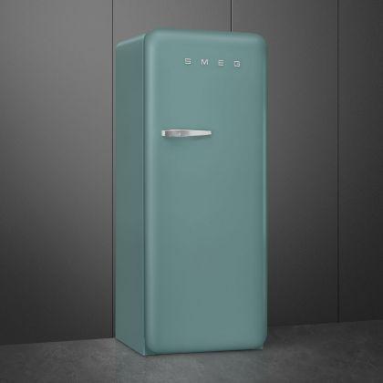 Frigider cu o usa retro Smeg FAB28RDEG5, verde smarald, ventilat, inverter