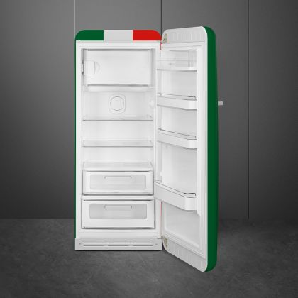 Frigider cu o usa retro Smeg FAB28RDIT5, steag Italia, ventilat, inverter