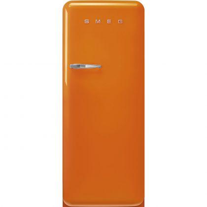 Frigider cu o usa retro Smeg FAB28ROR5, portocaliu, ventilat, inverter