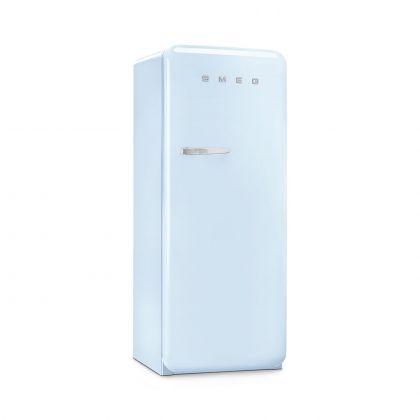 Frigider cu o usa retro Smeg FAB28RPB5, albastru deschis, ventilat, inverter