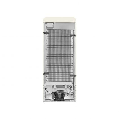 Frigider cu o usa retro Smeg FAB28RCR5, crem, ventilat, inverter