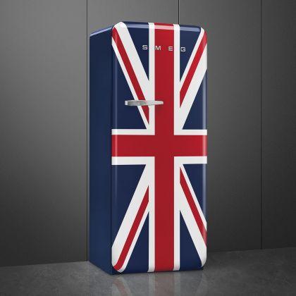 Frigider cu o usa retro Smeg FAB28RDUJ5, Union Jack, ventilat, inverter