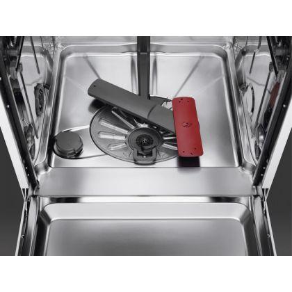 Masina de spalat vase incorporabila AEG FSE83838P, 60 cm, 14 seturi, AirDry, 7 programe, Sertar MaxiFlex, Motor Inverter, Touch control, Conectivitate Wi-Fi