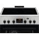 Aragaz Electric Electrolux SteamBake LKR664100X, 60x60 cm, 4 zone de gatit, Grill, 58 L, Autocuratare catalitica, Inox