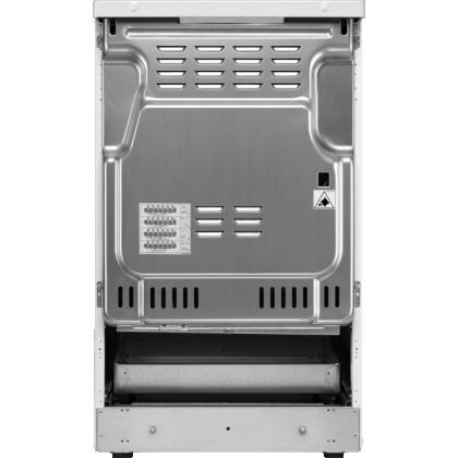 Aragaz Electrolux SteamBake AirFry LKI564200X, Electric, Plita inductie, 4 zone de gatit, Grill, 58 L, Autocuratare catalitica, 50x60 cm, Inox