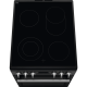 Aragaz Electric Electrolux SteamBake AirFry LKR564200K, 4 zone de gatit, Grill, 58 L, Autocuratare catalitica, 50x60 cm, Negru
