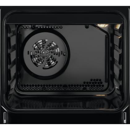 Aragaz Electric Electrolux SteamBake LKR560000X, 50 cm, Plita vitroceramica, Autocuratare catalitica, 4 zone de gatit, Grill, 54 L, Inox