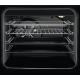 Aragaz Electric Electrolux SteamBake AirFry LKR564200W, 4 zone de gatit, Autocuratare catalitica, 58 L, Grill, 50x60 cm, Alb