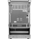 Aragaz mixt Electrolux SteamBake AirFry LKK564201X, 4 Arzatoare gaz, Autocuratare catalitica, Cuptor electric 58 L, Grill, 50x60 cm, Inox