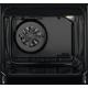 Aragaz mixt Electrolux SteamBake AirFry LKK560205W, 4 Arzatoare gaz,Cuptor electric, Grill, 58 L, 50x60 cm