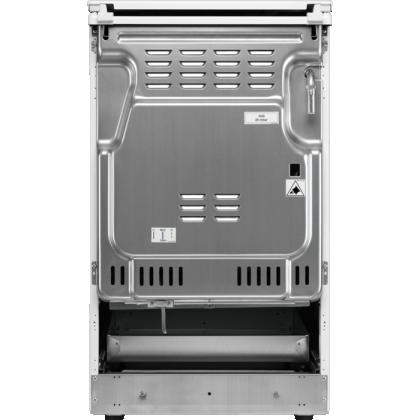 Aragaz Electrolux LKG504000W pe Gaz, 4 Arzatoare, Grill, Aprindere Electrica, Autocuratare catalitica, Siguranta gaz, 50 cm, Alb