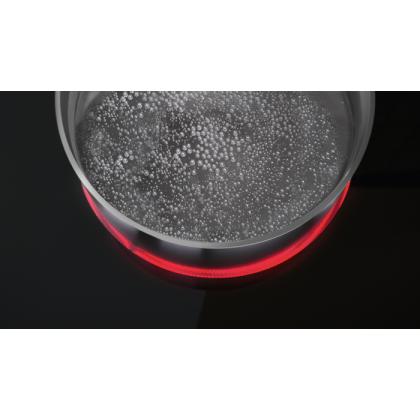 Plita incorporabila vitroceramica Zanussi ZHRN641K, 60 cm, 4 zone de gatit, Touch control, Culoare Negru