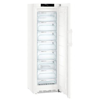 Congelator No Frost Liebherr GNi 4335, 60 cm, BluPerformance, 276L, clasa E, Alb