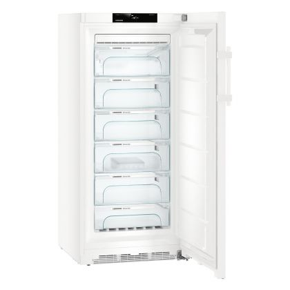 Congelator No Frost Liebherr GN 4135, 70 cm, BluPerformance, 270L, clasa D, Alb