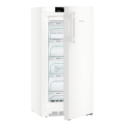 Congelator NoFrost Liebherr GN 2835, 60 cm, BluPerformance, 161L, clasa E, Alb