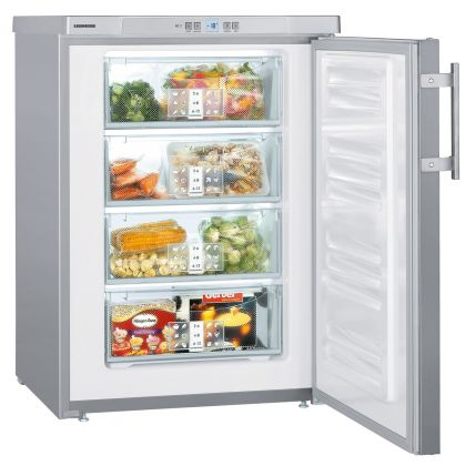 Congelator Liebherr GPesf 1476, SmartFrost, 102L, clasa E, Silver