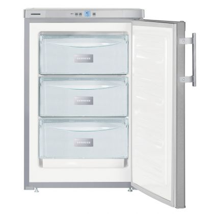 Congelator Liebherr Gsl 1223, SmartFrost, 97 L, clasa F, Silver