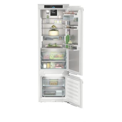 Combina frigorifica incorporabila SmartFrost Liebherr ICBdi 5182, 56 cm, clasa D, BottleTimer, filtru aer, BioFresh, InfinitySpring, display Touch, HydroBreeze