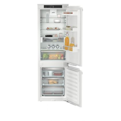 Combina frigorifica incorporabila NoFrost Liebherr ICNd 5123, 56 cm, clasa D, SuperSilent, display Touch, EasyFresh, IceCubeTimer