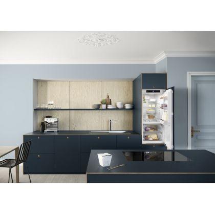 Frigider incorporabil cu o usa Liebherr IRBd 4120, 56 cm, BioFresh, clasa D, 189 L, display Touch, SuperCool, Filtru FreshAir