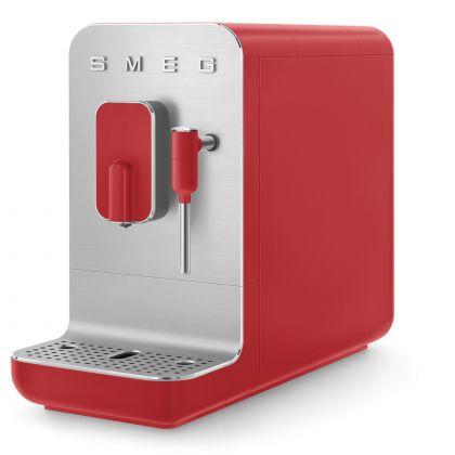 Espressor automat Smeg 50's Style BCC02RDMEU, rosu, 8 preparate