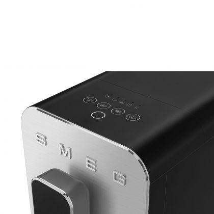 Espressor automat Smeg 50's Style BCC02BLMEU, negru, 8 preparate